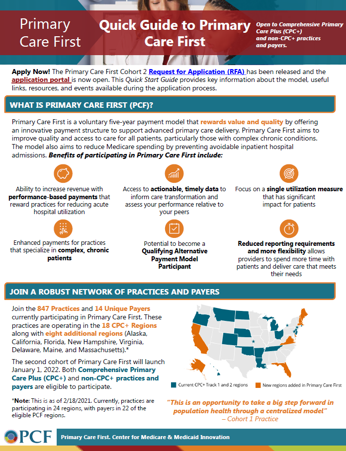 Primary Care First Flyer
